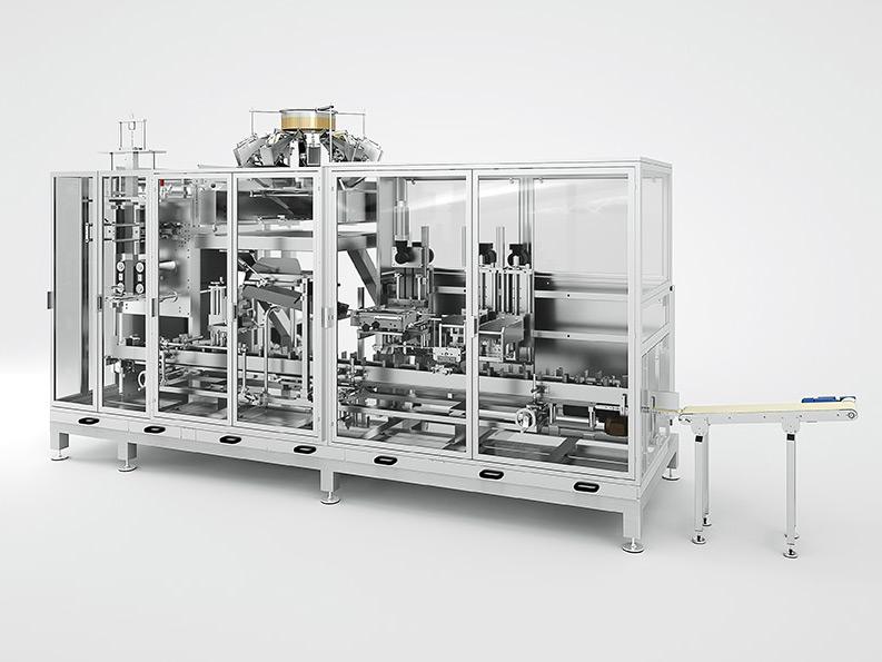 HVM - HORIZONTAL BAG CLOSING MACHINE - inno-tech Verpackungsmaschinen GmbH