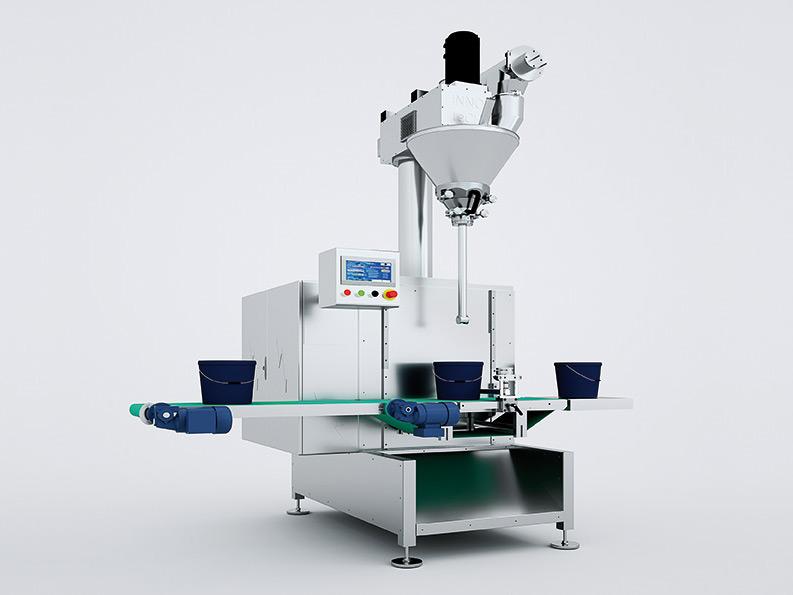 inno-tech Verpackungsmaschinen - Eimer-/Dosenbefüllung